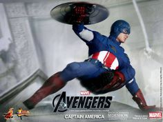 The Avengers Captain America 12-inch Figure - The Movie Store