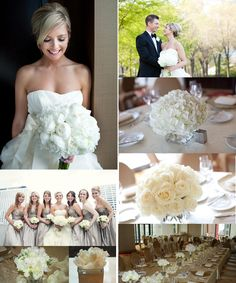 Snow ball hydrangea centerpiece - Chicago Flower Blog - Natural Beauties Florist - Chicago, IL
