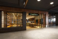 Oliver Brown Chocolate Cafe by Morris Selvatico. Chatswood, Sydney.
