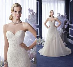 Red Mermaid Wedding Dresses 2016 Romantic Crystals Wedding Dresses With Detachable Overskirt Ronald Joyce Sweetheart Appliqued Pearls Beaded Tulle Mermaid Bridal Gowns Sexy Lace Wedding Dress From Nicedressonline, $240.32| Dhgate.Com