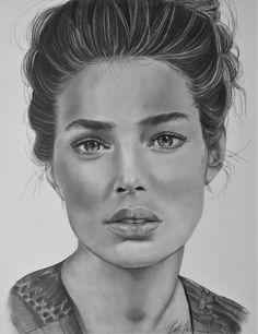 fashion model 11x17 graphite Graphite, Over The Years, My Drawings, Fashion Models, Art, Graffiti, Art Background, Kunst, Models