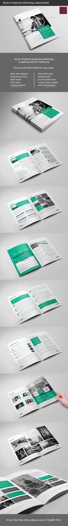 Project \ Business Proposal InDesign v4 Bar, Desain, dan Proposal - download business proposal template