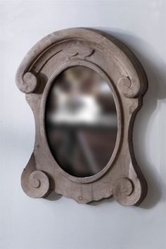 Rustic, Recycled Pine Mirror - WC-MANSARD-2