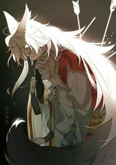 Anime Wolf, Anime Neko, Manga Anime, Lobo Anime, Anime Art, Manga Drawing, Manga Art, Manga Romance, Neko Girl