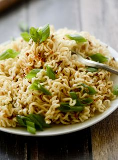 Ramen Noodles with Spicy Korean Chili Dressing