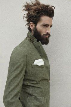 10 superb long hair updos for men