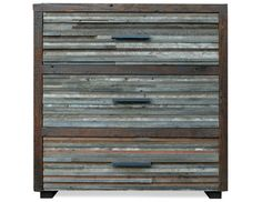 Love this dresser, reclaimed wood!