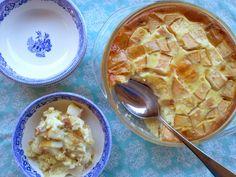 Pear and quinoa breakfast custard