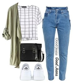 """""""How To Wear : High-Waisted Jeans"""" by maevadirectioner ❤ liked on Polyvore"""