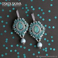 Купить №263 ELIZA Серьги-снежинки со Swarovski в интернет магазине на Ярмарке Мастеров