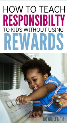 I need to make my kids more accountable, but how? These positive parenting tips and ideas contain awesome activities to teach responsibility to kids. Great advice for moms and dads who want to use more positive discipline in their family. Parenting Fail, Parenting Books, Gentle Parenting, Kids And Parenting, Parenting Styles, Peaceful Parenting, Parenting Classes, Parenting Ideas, Stress