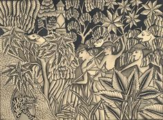 Balinese artist 1930s acquired from the Leo Hak's collection through Borobudur…