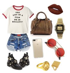 """Simple"" by indahif on Polyvore featuring Balenciaga, Lime Crime, Casio, Speck, ZeroUV, Alexander Wang and Brigid Blanco"