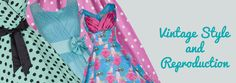 Rockabilly Dresses, Pin Up Dresses, Vintage Style Dresses from My Vintage