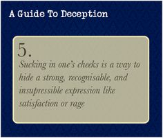 A Guide to Deception Orange Things orange kitchen decor Sherlock Bbc, Writing Tips, Writing Prompts, Guide To Manipulation, Detective, A Guide To Deduction, The Science Of Deduction, How To Read People, Thing 1