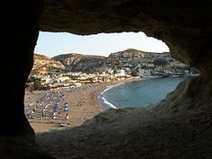 Matala Cave View 2 | Flickr - Photo Sharing! (Greece)