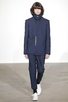 Catwalk photos and all the looks from Public School Autumn/Winter 2016-17 Menswear New York Fashion Week