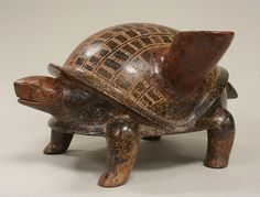 Turtle Vessel, 200 B.C.–A.D. 300. Mexico, Mesoamerica, Colima. The Metropolitan Museum of Art, New York. Gift of Joanne P. Pearson, in memory of Andrall E. Pearson, 2007 (2007.345.5)