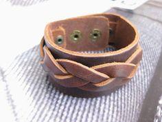 Jewelry bangle leather bracelet men bracelet by braceletbanglecase, $8.50
