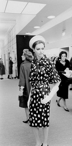 Paris Copies Fashion Show 1962    Photographed for LIFE Magazine.