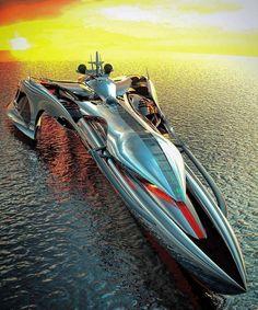 Futuristic Technology, Futuristic Cars, Yacht Design, Boat Design, Grand Luxe, Amphibious Vehicle, Yacht Boat, Transporter, Motor Yacht