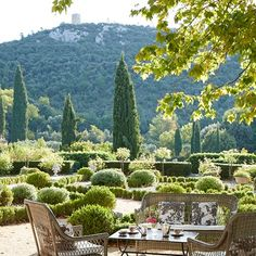 Discover designer Jocelyne Sibuet's characterful hotels in France on HOUSE - design, food and travel by House & Garden; Domaine de la Baume