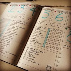 Testing out a new layout for my weekly layout in my bullet journal…