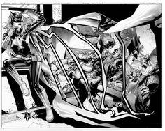More incredible JH Williams III #Batwoman art goes on sale Saturday. #comics
