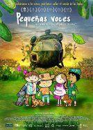 En la película documental de animación PEQUEÑAS VOCES, cuatro chicos de entre 9 y 12 años relatan cómo era su vida en el interior colombiano y cómo la violencia los expulsó hacia Bogotá.