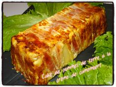 cake de pommes de terre à la crème de camembert