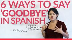 6 ways to say goodbye in Spanish