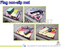 America Flag car dashboard non-slip mat non slip pad for car accessory anti-slip mat Taiwan made Interior Items Accessories