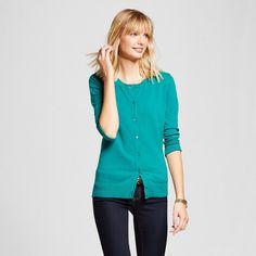 Women's Cardigans Windward Green Xxl - Merona