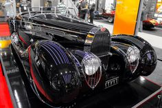 1937 Bugatti Type 57c Originally owned by the Prince of Persia.
