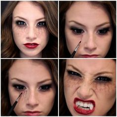 Hungry Vampire - Halloween Costumes You Can Make With Just Makeup - Photos