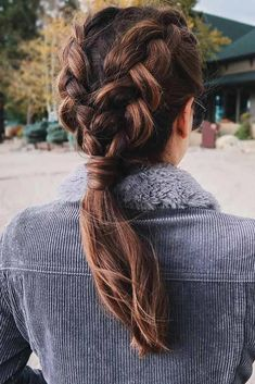 Top 60 All the Rage Looks with Long Box Braids - Hairstyles Trends Edgy Updo, Braided Ponytail, Double Ponytail, Box Braids Hairstyles, Pretty Hairstyles, Spring Hairstyles, Curly Hair Styles, Natural Hair Styles, Wedding Braids