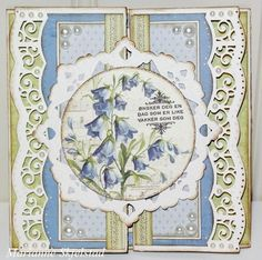A bluebell card by Marianne, featuring the My Beloved Son collection
