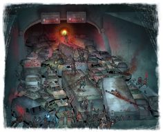 If there is a zombie apocalypse, or any kind of apocalypse, I will stay the hell away from tunnels. Arte Horror, Horror Art, Arte Zombie, Post Apocalyptic Art, Zombie Monster, Apocalypse Art, Zombie Girl, Scary Art, Weird Creatures