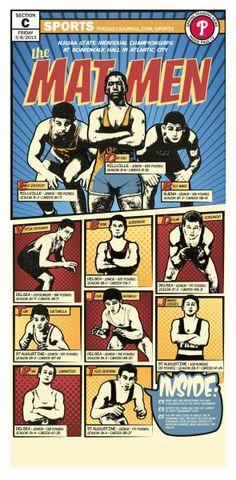 Mat Men wrestling preview, Vineland Daily Journal, by Eddie Alvarez