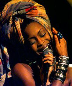 Erykah Badu (born Erica Abi Wright on February 26, 1971 in Dallas, Texas) is an American R'n'B/neo-soul artist whose work crosses over into jazz.