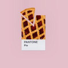 PANTONE Pie #mydailypantone #pantone
