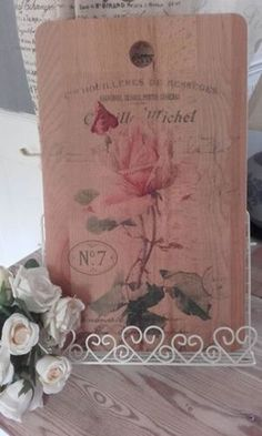 Shabby-French-Chic-solid-wood-45x28cms-chopping-board