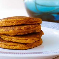 Paleo Pumpkin Coconut Flour Pancakes from www.cupcakestocrossfit.com, found @Edamam!