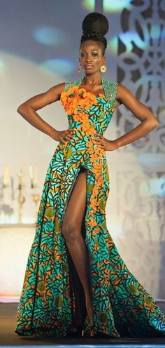 african fashion styles - Google Search