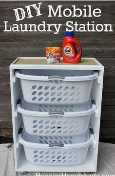 So kommt endlich Ordnung in den Haushalt: 11 Tricks für deine Waschküche!