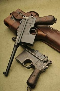 C96 9mm Mausers