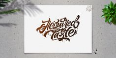 Lettering Collection 2 on Behance