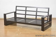 - Unboxed Home - Office Furniture for sale - QuikrGoods Wooden Sofa Designs, Wooden Sofa, Metal Sofa, Welded Furniture, Furniture Design Wooden, Steel Furniture Design, Furniture Design Chair, Pallet Furniture, Furniture Design