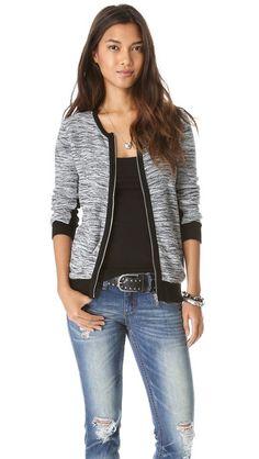 barlow zip sweater / splendid