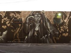 Streetart: New Murals by Shepard Fairey (Obey), Faith47 and Anthony Lister in Miami (10 Pictures) > Fashion / Lifestyle, Film-/ Fotokunst, Paintings, Streetstyle > anthony lister, faith47, miami art basel, murals, shepard fairey